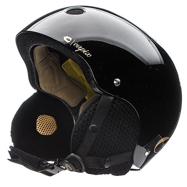 Capix Snow Helmet Dynasty Womens Helmet, Gloss Black, 600