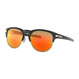 Oakley Latch Key M Prizm Sunglasses, Polished Black Ink-Prizm Ruby, 256