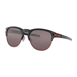 Oakley Latch Key M Prizm Sunglasses, Polished Black-Prizm Black, 256