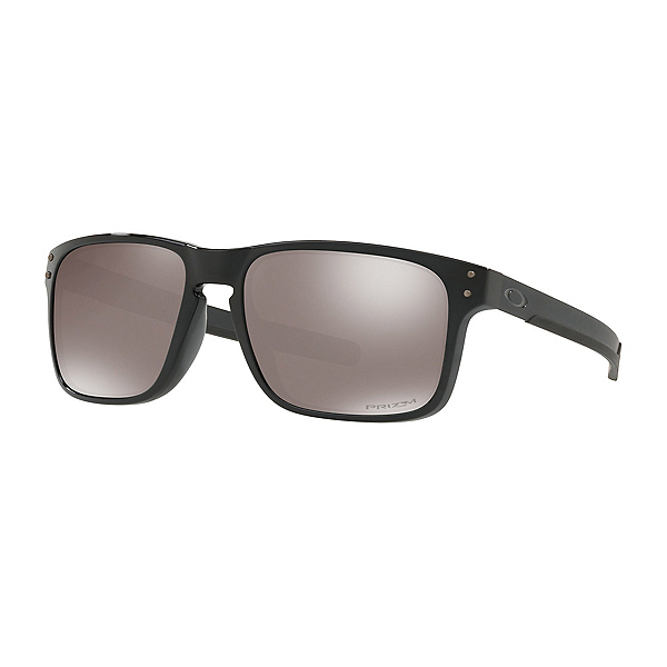 Oakley Holbrook Mix Prizm Polarized Sunglasses, Polished Black-Prizm Black Polarized, 600