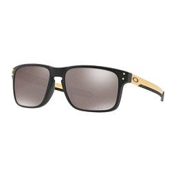 Oakley Holbrook Mix Prizm Polarized Sunglasses, Matte Black-Prizm Black Polarized, 256