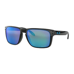 Oakley Holbrook XL Prizm Sunglasses, Polished Black-Prizm Sapphire, 256