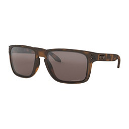 Oakley Holbrook XL Prizm Sunglasses, Matte Brown Tortoise-Prizm Black, 256