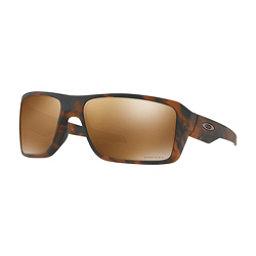 Oakley Double Edge Prizm Sunglasses, Matte Tortoise-Prizm Tungsten, 256