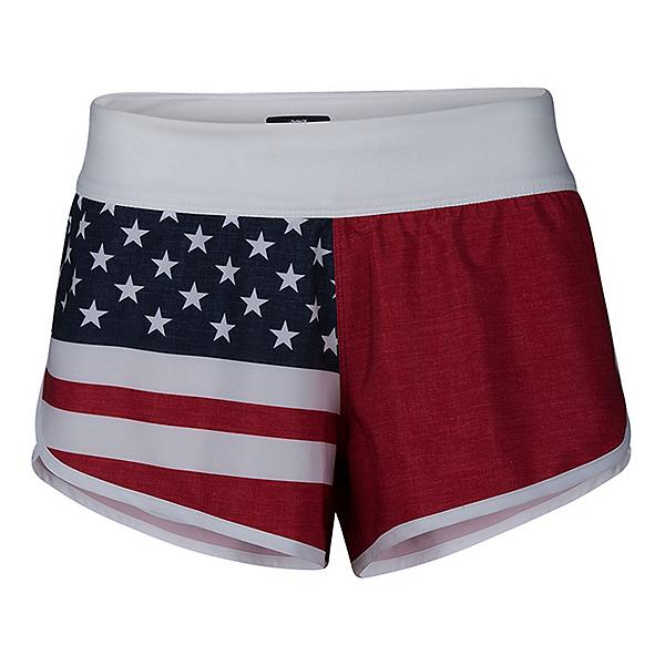Hurley Phantom Cheers USA Womens Board Shorts, , 600