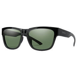 Smith Ember Polarized Sunglasses, Black-Chromapop Polarized Gray, 256