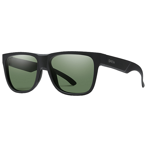 Smith Lowdown 2 Polarized Sunglasses, Matte Black-Chromapop Polarize, 600