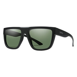d0d6877d3 Smith The Comeback Polarized Sunglasses, Matte Black-Chromapop Polarize, 256