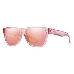 Smith Lowdown Slim 2 Sunglasses, Pink Crystal-Chromapop Rose Flash, 256