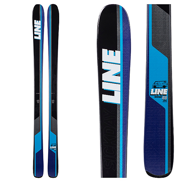 Line Sick Day 88 Skis, , 600