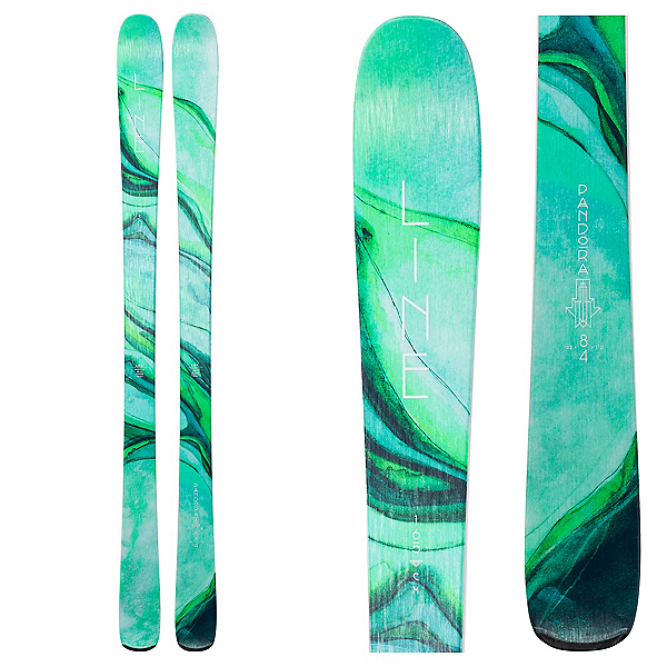 Line Pandora 84 Womens Skis, , 600