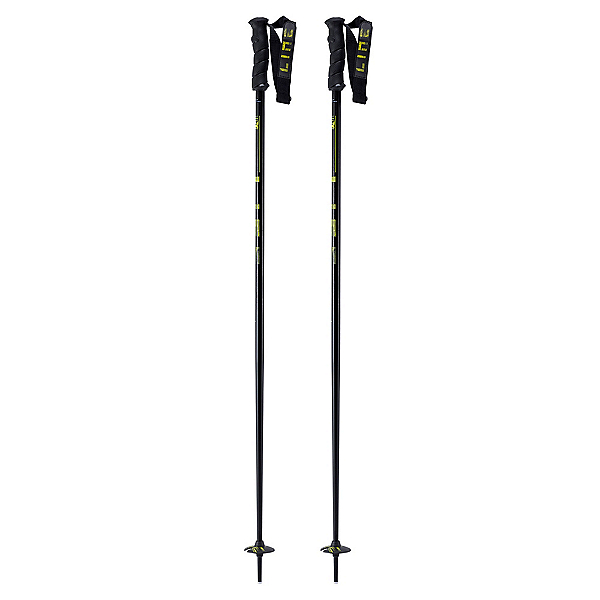 Line Grip Stick Ski Poles, Black, 600