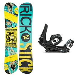Rossignol Trickstick AF Stealth 3 Snowboard and Binding Package 2018, , 256