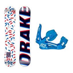 Drake LF LF Kids Snowboard and Binding Package, , 256