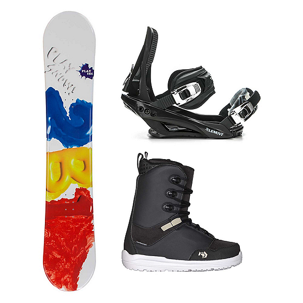 2B1 Play Red Supra Complete Snowboard Package, , 600