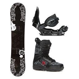 SLQ Treat Militia Kids Complete Snowboard Package, , 256