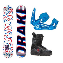 Drake LF Militia Kids Complete Snowboard Package, , 256