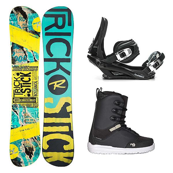 Rossignol Trickstick AF Supra Complete Snowboard Package, , 600