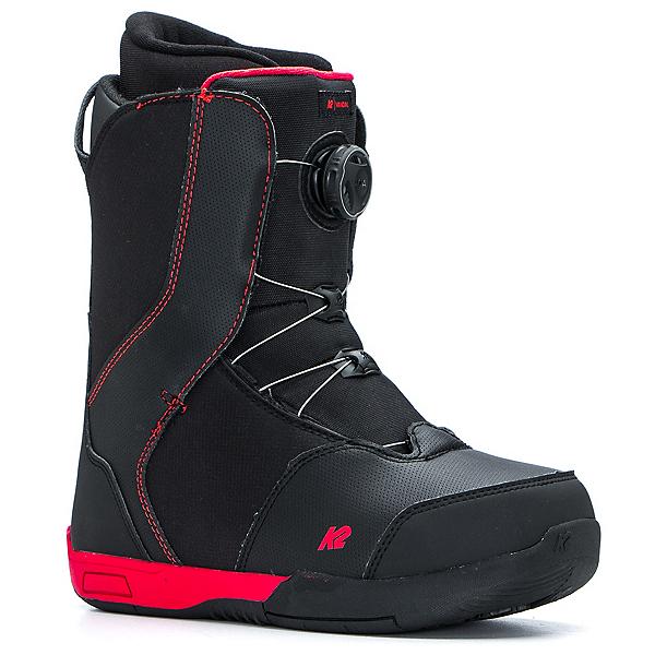 K2 Vandal Kids Snowboard Boots, Black, 600