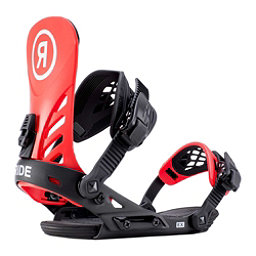 Ride EX Snowboard Bindings 2019, Red, 256