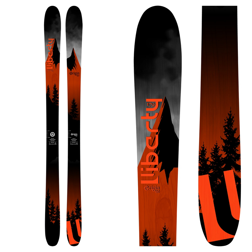 Liberty Skis Origin 90 Skis 2019