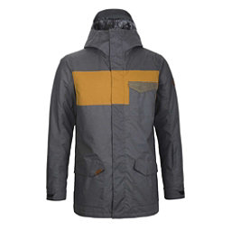 Dakine Elsman Mens Insulated Snowboard Jacket, Black- Buckskin- Tarmac, 256