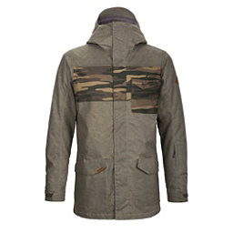 Dakine Elsman Mens Insulated Snowboard Jacket, Tramac- Field Camo, 256