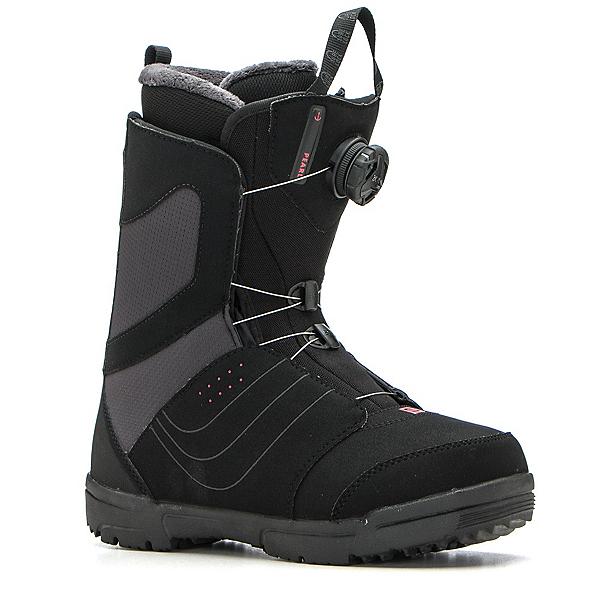 Salomon Pearl Boa Womens Snowboard Boots, Black, 600