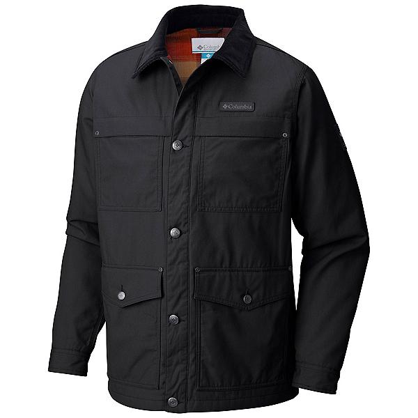 Columbia Loma Vista Flannel Mens Jacket, Black, 600