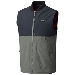 Columbia Reversatility Mens Vest, Gravel Black, 256