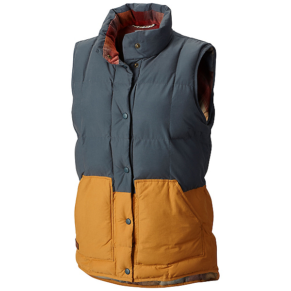Columbia South Canyon Bluff Womens Vest, Mystery, Canyon Gold, 600