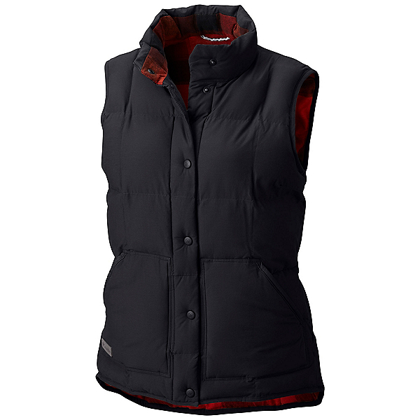 Columbia South Canyon Bluff Womens Vest, Black, 600