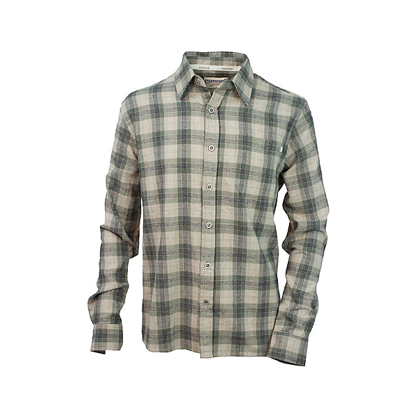 Purnell Sage Plaid Button Up Flannel Shirt, , 600