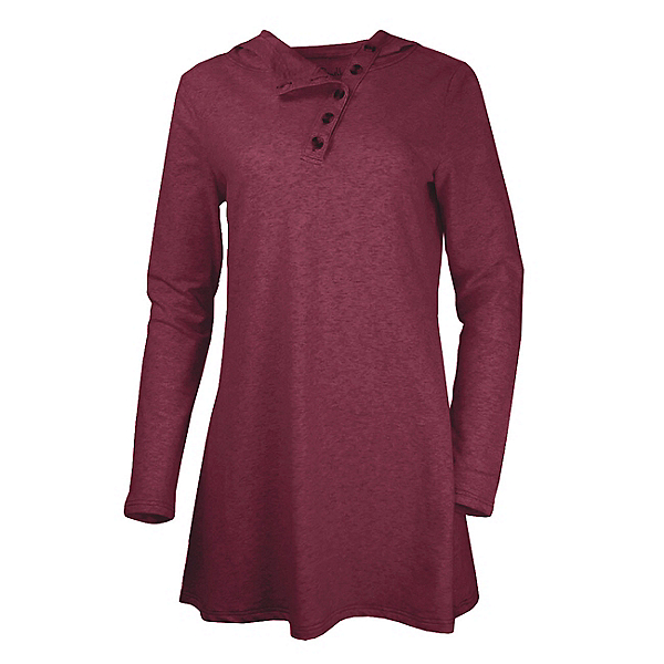 Purnell French Terry Tunic Womens Hoodie, , 600