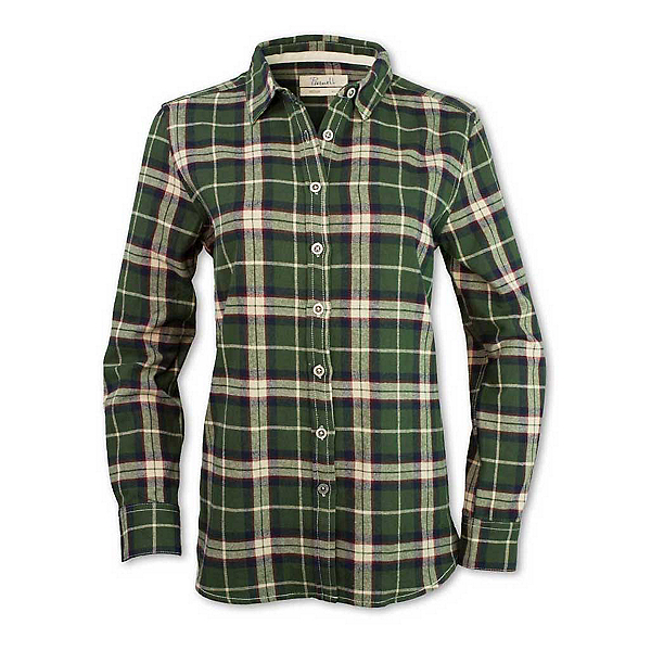 Purnell Olive Flannel Shirt 2019, , 600