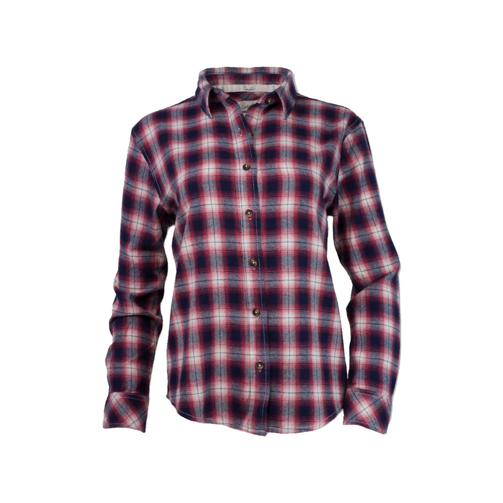 Image of Purnell Vintage Plaid Flannel Flannel Shirt