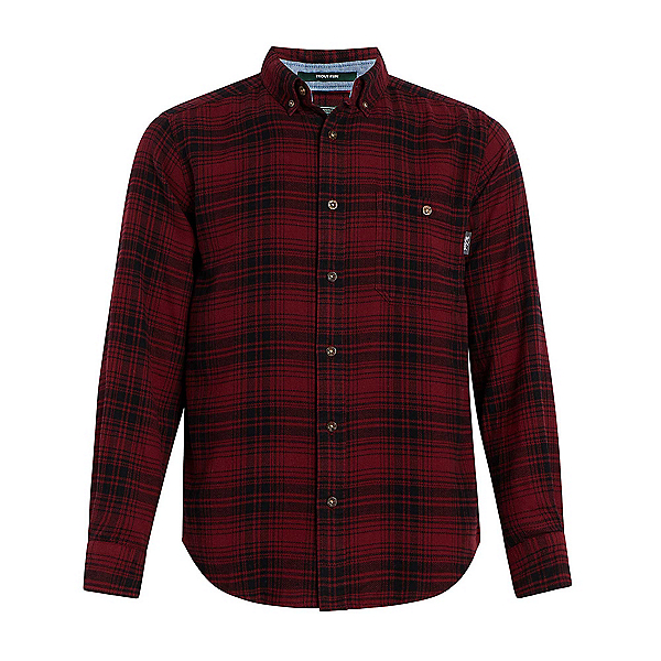 Woolrich Trout Run Flannel Shirt, Old Red Buffalo, 600