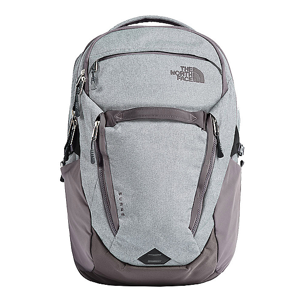The North Face Surge Women's Backpack, High Rise Grey Light Heather-R, 600