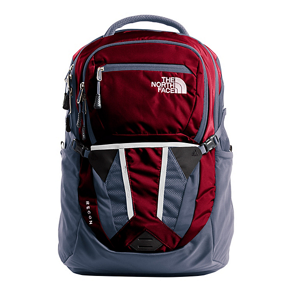 7aca7ba947a The North Face Recon Womens Backpack, Rumba Red-Grisaille Grey, 600