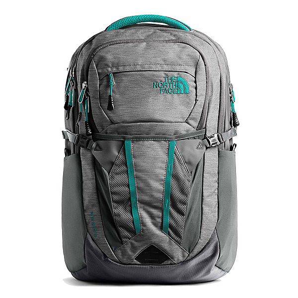 The North Face Recon Womens Backpack (Previous Season), Zinc Grey Light Heather-Kokomo, 600