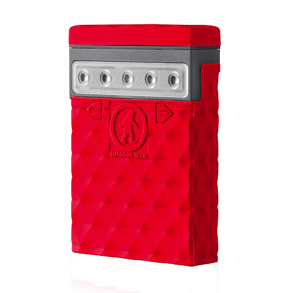 Outdoor Tech Kodiak Mini 2.0 Power Bank, Red, 600