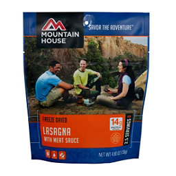 Mountain House Lasagna with Meat Sauce 2018, , 256