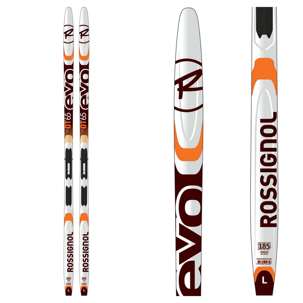 Rossignol Evo OT 65-IFP Cross Country Skis with Bindings 2020 im test