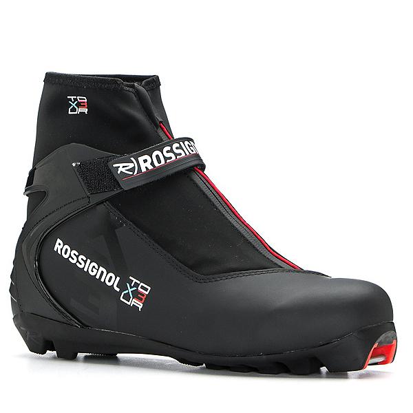 Rossignol X-3 NNN Cross Country Ski Boots, Black, 600