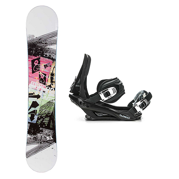 Firefly Beacon Stealth 3 Snowboard and Binding Package 2018, , 600