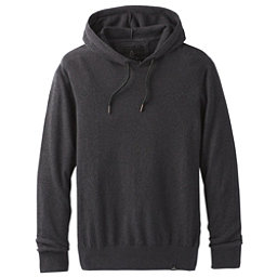 Prana Throw-On Hooded Mens Sweater, Black, 256