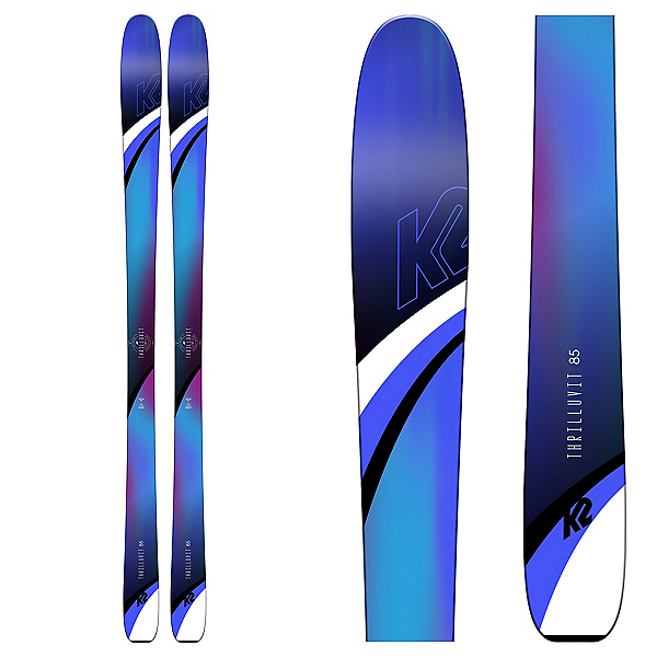 K2 ThrillLuvIt 85 Womens Skis 2019, , 600