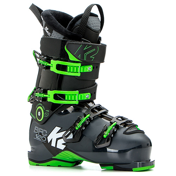 K2 B.F.C. 120 Ski Boots, Dark Gray-Green, 600