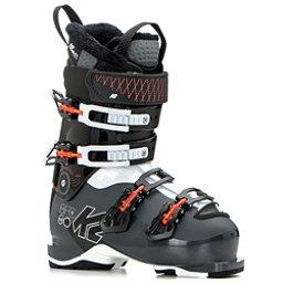 K2 B.F.C 80 W Womens Ski Boots 2019, Gray-White-Coral, 256