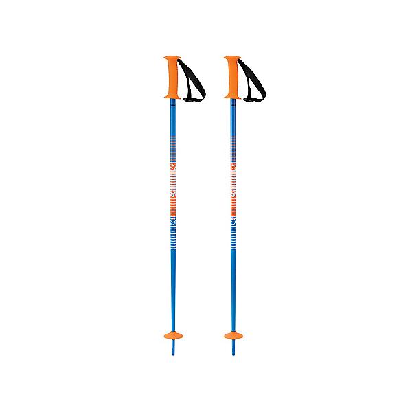 K2 Decoy Kids Ski Poles, Blue-Orange, 600
